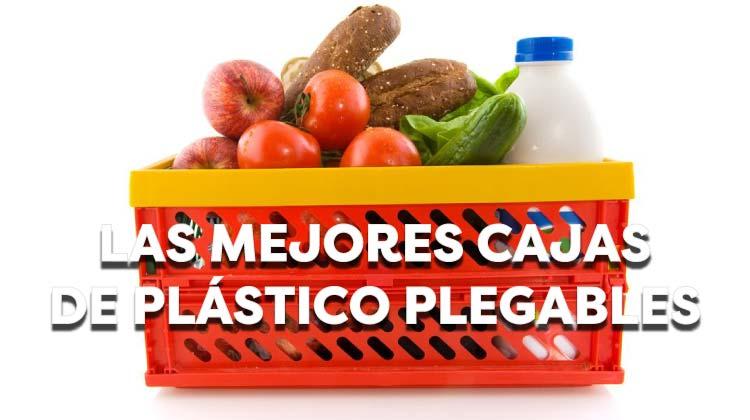 Las mejores cajas de plástico plegables