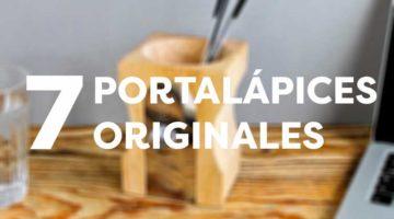 7 portalápices originales para tu escritorio